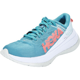 Hoka One One Carbon X Running Shoes Women, niebieski/biały